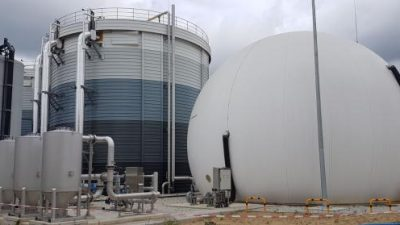 Renovatie biogasinstallatie RWZI Den Bosch